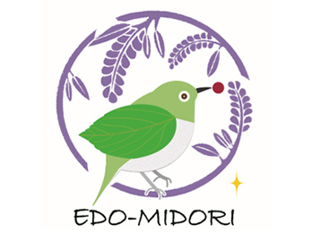 Edo-Midori green area registration (excellent green space) mark